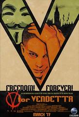 """Todos los pósters de """"V de Vendetta"""""""
