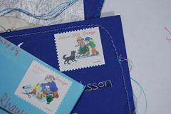 The Julpost stamps