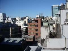 Kagurazaka rooftop