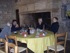 Dining in a Castle