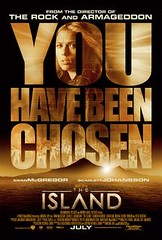 The Island teaser Poster 2