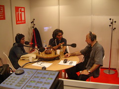Josué Méndez en Radio France Internationale (RFI)