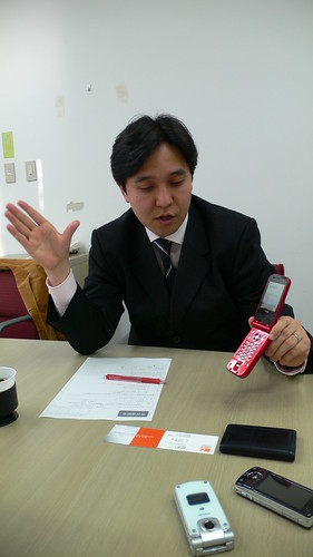 YAMAWAKI shinji - consumer service manager at NTT DoCoMo #07