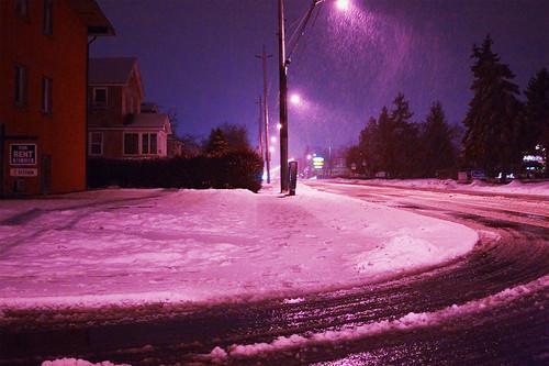 snow on xmas