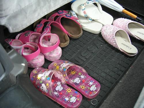 In case of a shoe emergency
