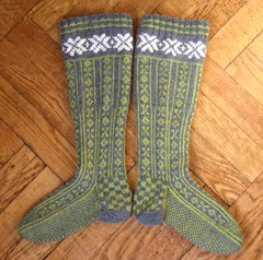 finished norwegian stockings 6