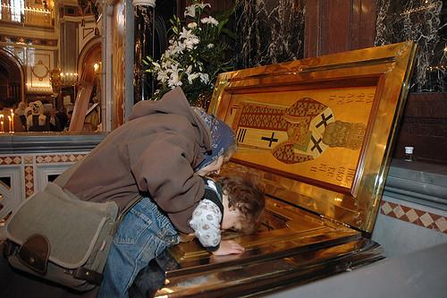 reliques st Philarete de Moscou