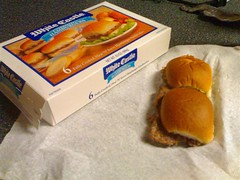 Frozen Whitecastle Burgers