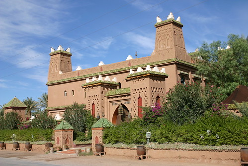 Hotel Kasbah Asmaa - nicely decorated but out of my league. Zagora 2005.