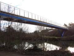 The Downstream Millenium Bridge
