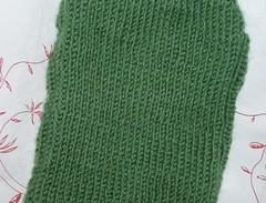 vihreat sukat neulepintaa