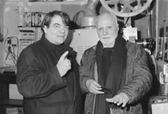 Silvano Agosti con Luigi Comencini