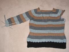 classy stripe sweater