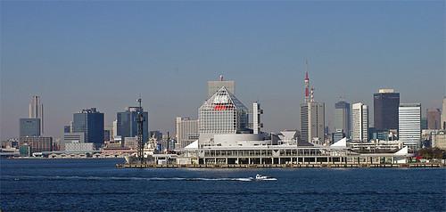 Harumi ferry port