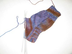 The Fleece Artist sock kit