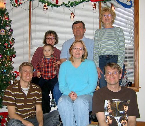 Oelkers Family Portrait XMas 2005 #2