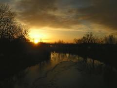Taft Hill Bridge Sunrise