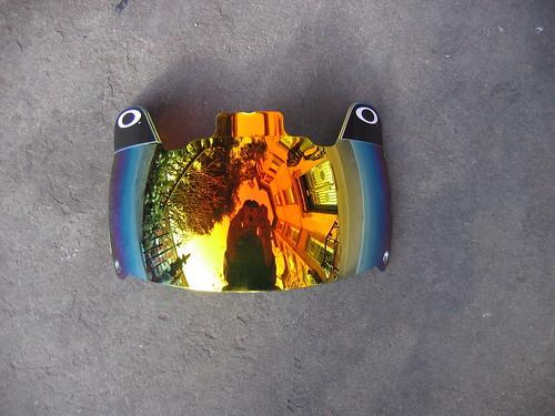 oakley amber visor