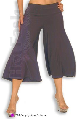 Black Gaucho pants 2