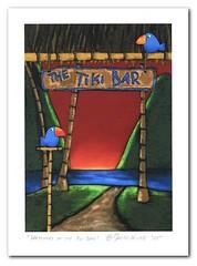 Watchers of the Tiki Bar