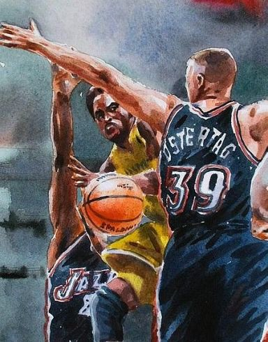 Tag and Kobe painting