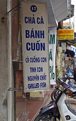 Banh Cuon Stall on Cha Ca