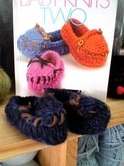 Alisa's moccasins