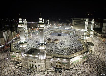 BBC-afp-mecca at night
