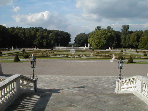 Schloss Nordkrichen gardens