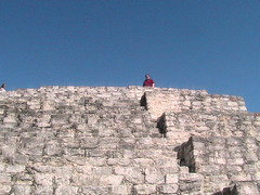 Me at the Top of a Sacrificial Temple