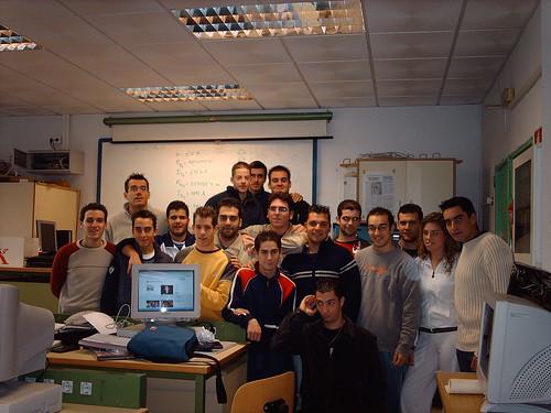 alumnos del curso 2005/06