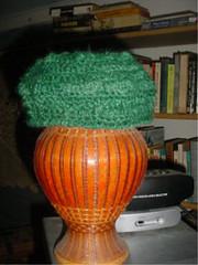 Mohair/Shetland Crocheted Cap