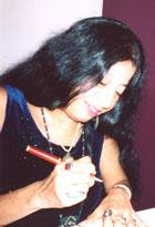 Lorna Dee Cervantes - Signing DRIVE