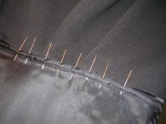 waist pinned