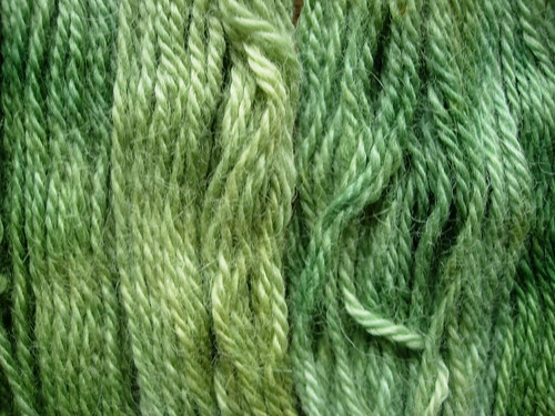 My alpaca yarn