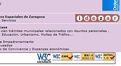 El Ayuntamiento de Zaragoza y el W3C