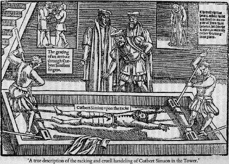 Image: The racking and cruell handling of Cutbert Simson