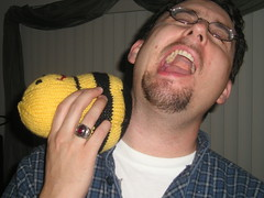 Being stung by the Bumble Bean