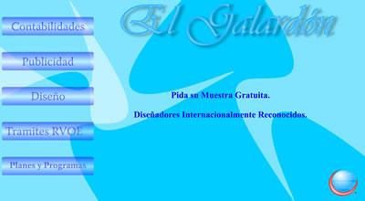 Screenshot de galardon.com.mx