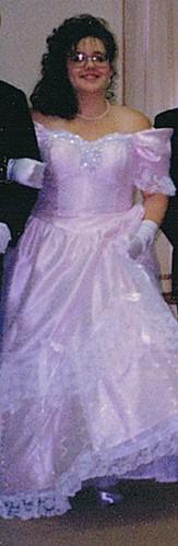 (OMG) Birthday Cake Dress - '90s