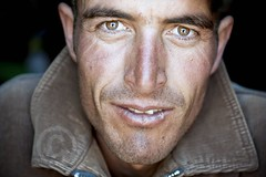 Face from central asia  | travel portrait | Tajikistan photo by galibert olivier