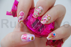 (EXPLORED) Katy Perry - California Gurls photo by Rubia Olivo ~ Nail Art