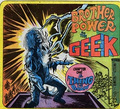 Geek logo from Brother Power The Geek 1, 1968