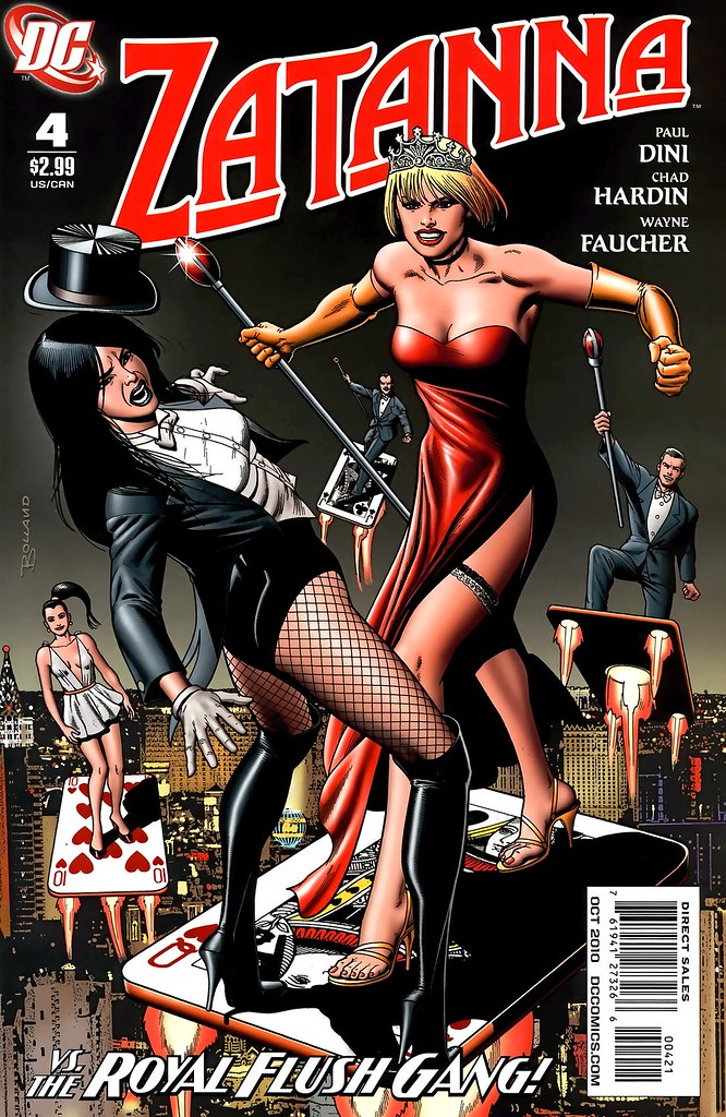 Zatanna 4 variant cover by Brian Bolland 2010