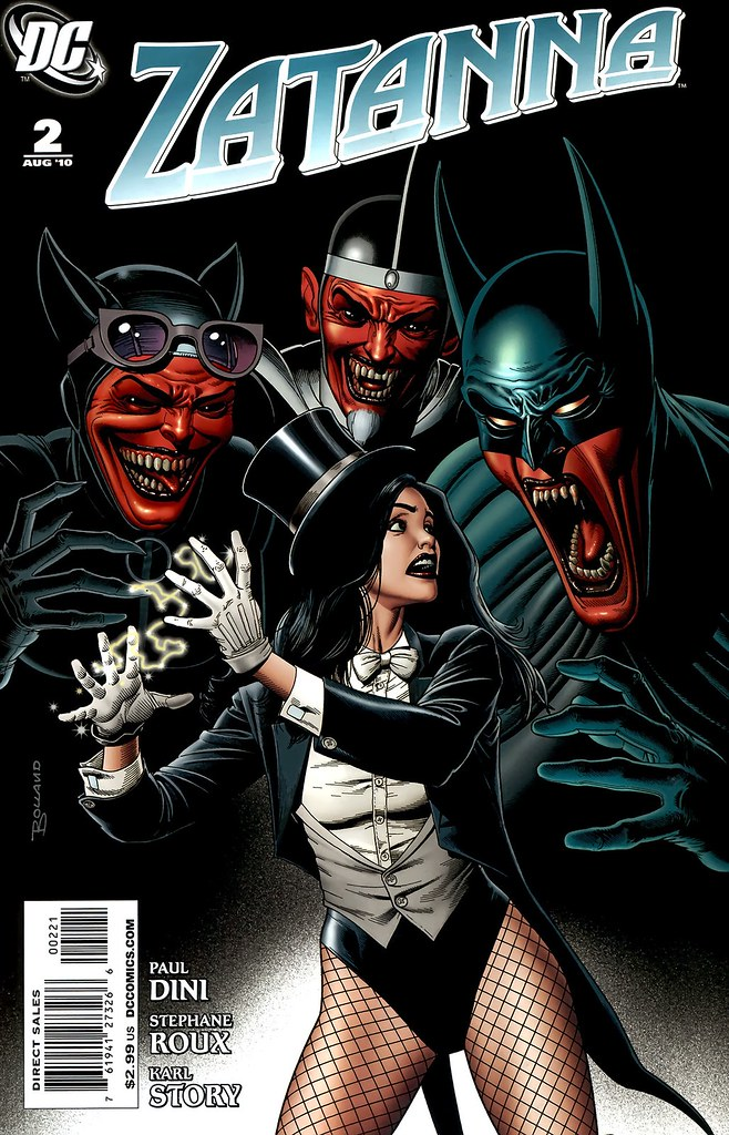 Zatanna 2 variant cover by Brian Bolland 2010