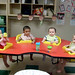Lunchtime in the Infants room.