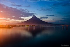 Mayon Volcano at Dusk photo by |d|e|x|
