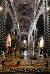 Duomo di Santa Maria Assunta (Siena Cathedral) - Siena, Italy photo by Batistini Gaston (4 million views!)