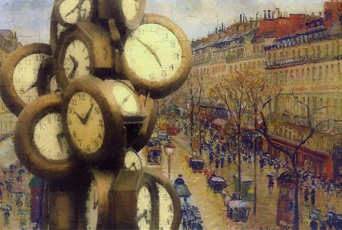 Montmarte Clocks