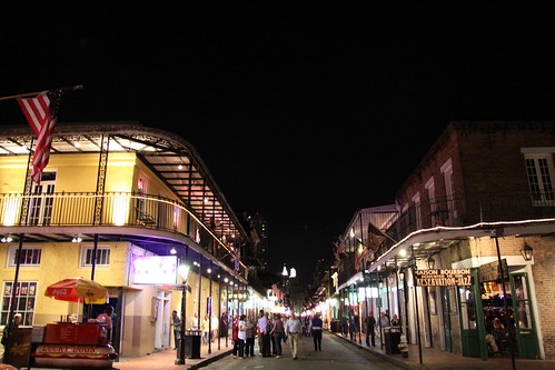 When Bourbon Street comes to life